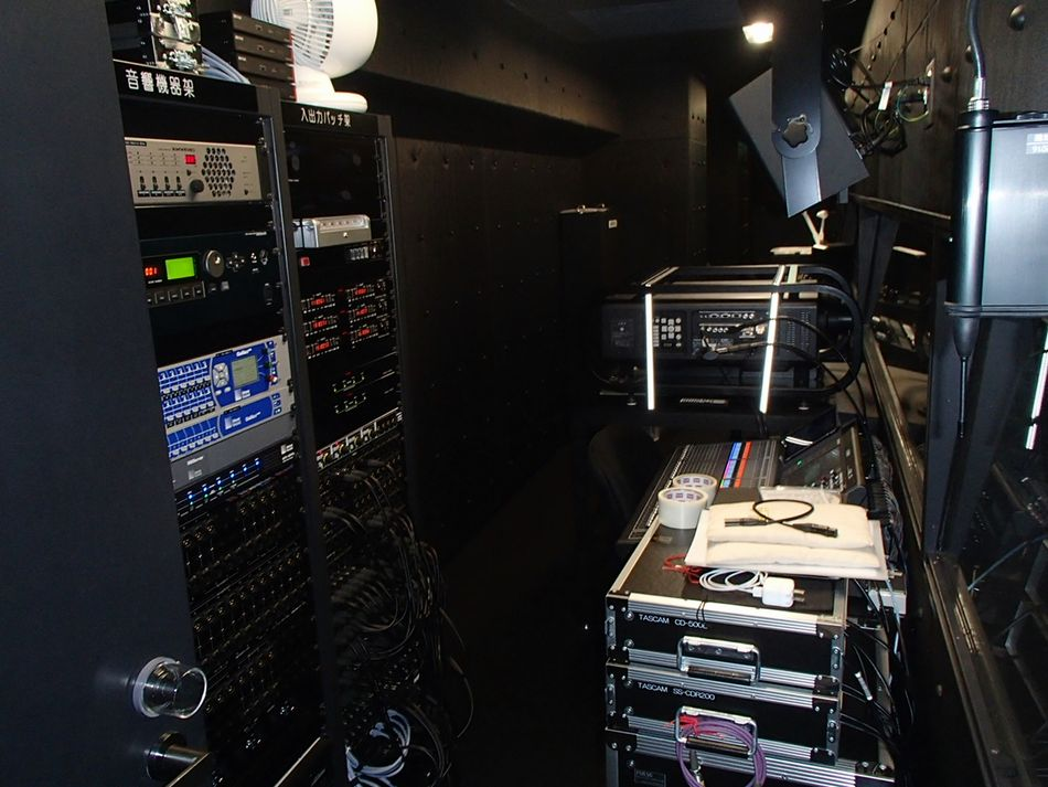 GLA中京会館の映像音響設備