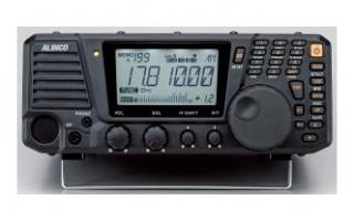 DX-R8(ALINCO)(卓上レシーバー)