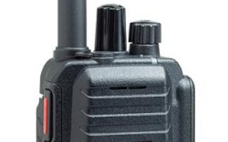 HX585(CSR株式会社)(携帯型デジタル業務用無線機)