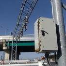 道路プローブ情報収集設備用の路側装置(RSU機側装置)の設置写真