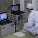 浜松河川国道事務所管内の中継所におけるK-λ基地局装置の測定作業